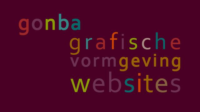 gonba grafische vormgeving websites gonny vijn bakker