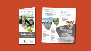 GonBa folder Dagbesteding voor Omring Hoorn