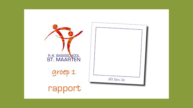GonBa digitaal rapport groep 1 en groep 2 voor Sint Maartenschool Oudkarspel