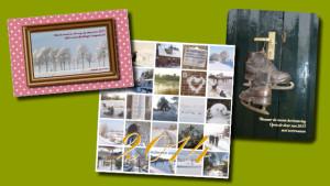 GonBa kerst kaarten, diverse formaten