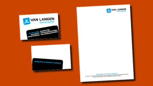 GonBa visitekaartje Jan van Langen Timmerbedrijf