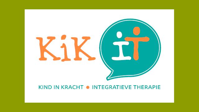 logo KiK It, ontwerp GonBa