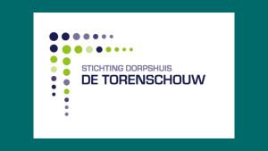 logo stichting dorpshuis de Torenschouw, ontwerp GonBa