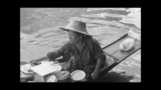 foto gemaakt en bewerkt door GonBa, Gonny Vijn-Bakker, Damnoen Saduak Thailand