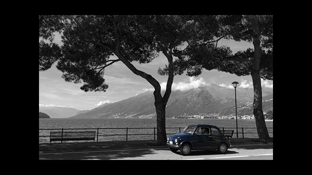 foto gemaakt en bewerkt door GonBa, Gonny Vijn-Bakker, Domaso Comomeer Italië