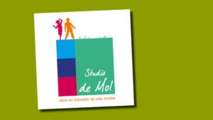 logo Studio de Mol vormgeving en opmaak GonBa grafische vormgeving