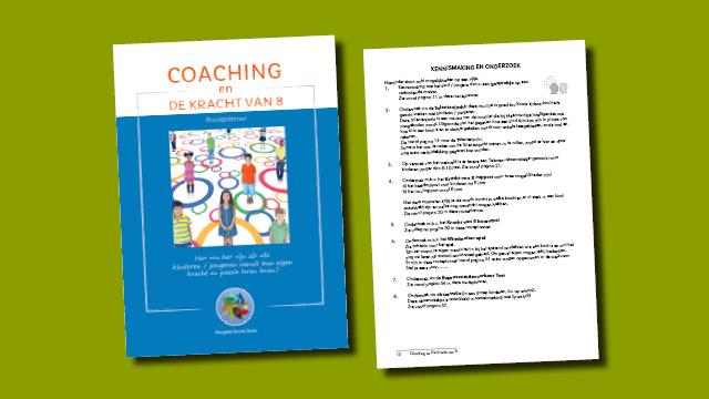ontwerp en opmaak door GonBa voor boek Coaching en De Kracht van 8