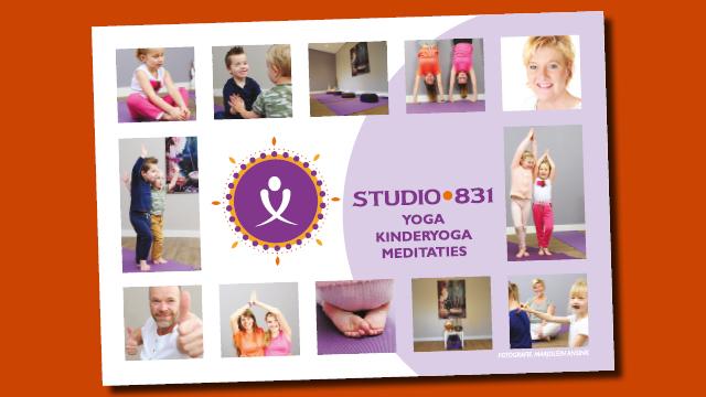 Studio831 flyer gemaakt door GonBa