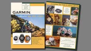 GonBa ontwerp en opmaak folder magazine Kasius voor juwelier Ed Ydo