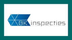 BK Inspecties logo in de portfolio vormgeving van GonBa