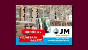 JM Totaalafdichtingen advertentie