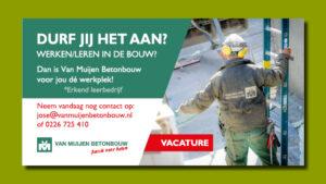 Van Muijen Betonbouw advertentie